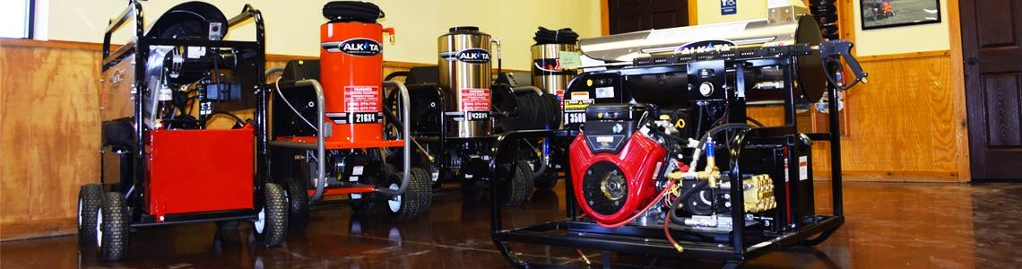 Alkota Pressure Washers from Hughes Equipment in Amarillo, TX.